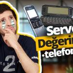 Paha biçilemeyen eski telefonlar! (Video)
