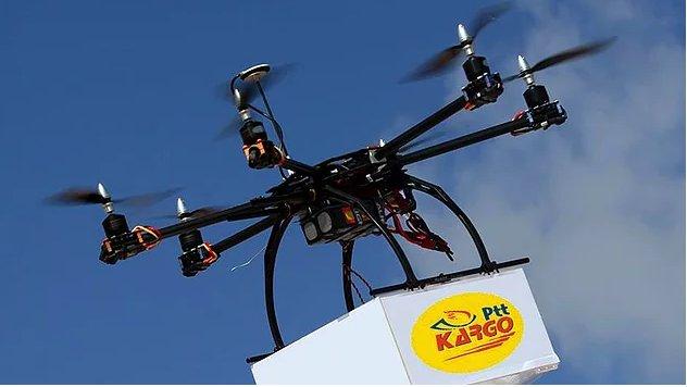 PTT drone ile kargo teslimatına başlıyor!